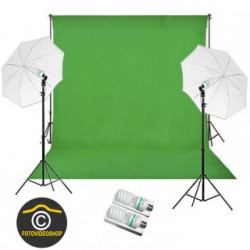 Green Screen Studio Set 325 + 325W Basic